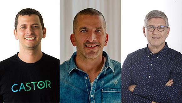 מימין: יאיר סאקוב, נמרוד כהן ועומר בלייר